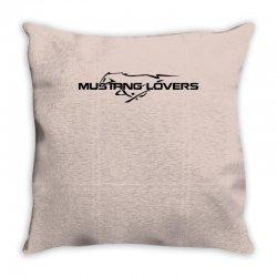 Mustang car Throw Pillow | Artistshot