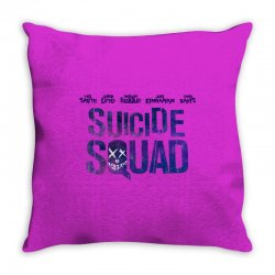 Suicide Squad Throw Pillow   Artistshot