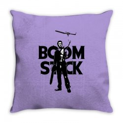 boom stick Throw Pillow | Artistshot