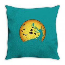 Night Halloween Throw Pillow | Artistshot