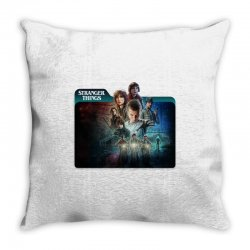 stranger things 01 Throw Pillow | Artistshot
