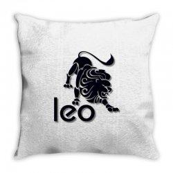 leo Throw Pillow | Artistshot