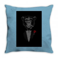 Monkey Busniseman Throw Pillow | Artistshot