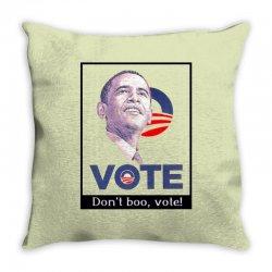 Vote Obama Throw Pillow | Artistshot