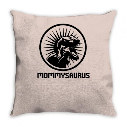 Mommysaurus Throw Pillow Designed By Tonyhaddearts