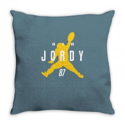 air jordy green bay packers jordy nelson Throw Pillow   Artistshot
