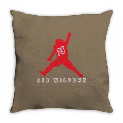 air wilfork   vince wilfork new england patriots defensive tackle Throw Pillow | Artistshot