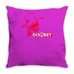 disobey joke politics Throw Pillow | Artistshot