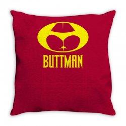 funny batman buttman Throw Pillow | Artistshot