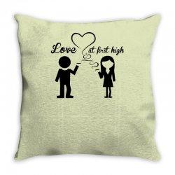 love at first high Throw Pillow   Artistshot