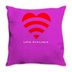 love broadcast Throw Pillow | Artistshot