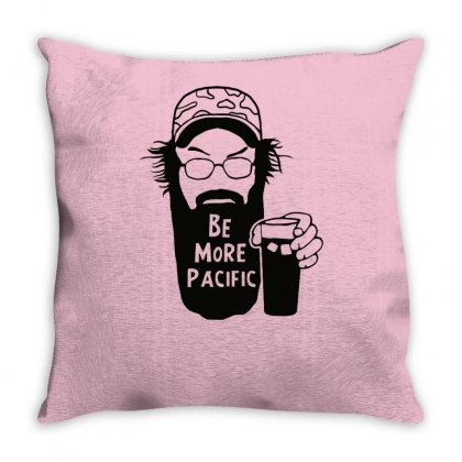 Be More Pacific Throw Pillow Designed By Tonyhaddearts