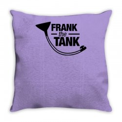 frank the tank Throw Pillow | Artistshot