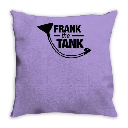 Frank The Tank Throw Pillow Designed By Tonyhaddearts