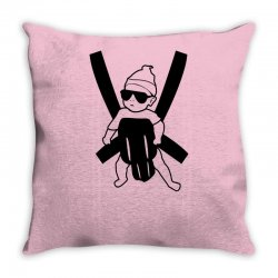 hangover baby Throw Pillow | Artistshot