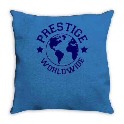 Prestige Worldwide Throw Pillow Designed By Tonyhaddearts