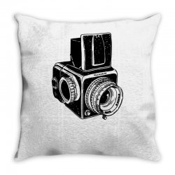 hasselblad vintage camera Throw Pillow | Artistshot