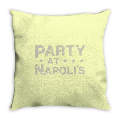 Party At Napolis Throw Pillow Designed By Vr46