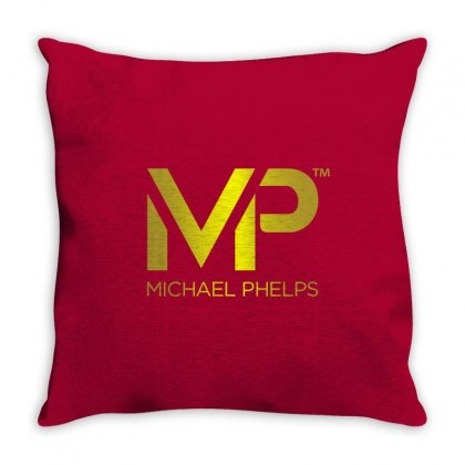 Michael Phelps Throw Pillow Designed By Vr46