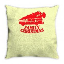 family christmas Throw Pillow | Artistshot