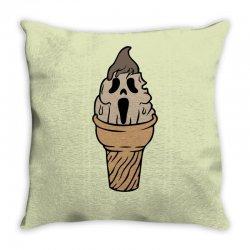 I Scream Throw Pillow | Artistshot