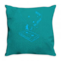 music is life Throw Pillow | Artistshot