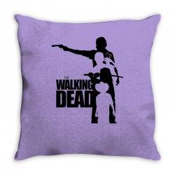 the walking dead Throw Pillow | Artistshot
