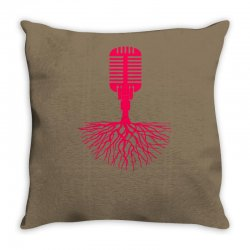 musical roots Throw Pillow | Artistshot
