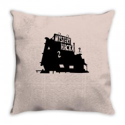 Who's That Shack Throw Pillow | Artistshot