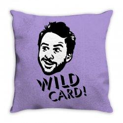 wild card Throw Pillow | Artistshot