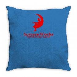ScreamWorks Throw Pillow   Artistshot