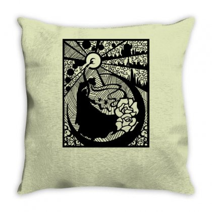 Serenity Throw Pillow Designed By Specstore