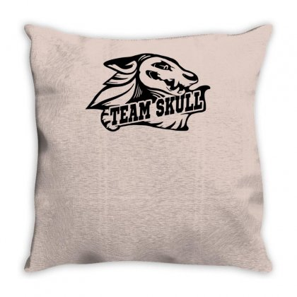 Team Skull Throw Pillow Designed By Specstore