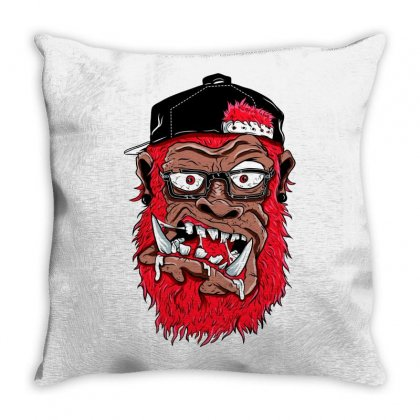 Call Him Gorrila Throw Pillow Designed By Specstore