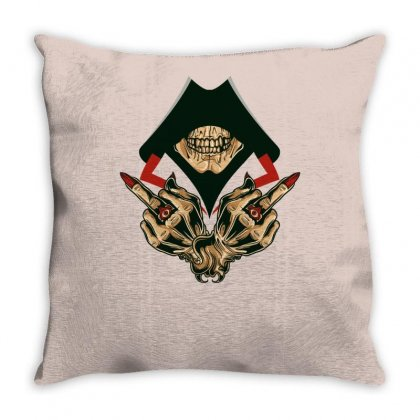 Dead Assassins Throw Pillow Designed By Specstore