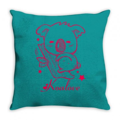 Koalove Throw Pillow Designed By Specstore