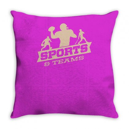Sports And Teams Throw Pillow Designed By Buckstore