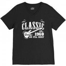 Classic Since 1968 V-Neck Tee | Artistshot