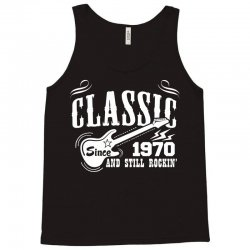Classic Since 1970 Tank Top | Artistshot