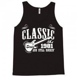Classic Since 1981 Tank Top | Artistshot