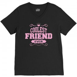 Coolest Friend Ever V-Neck Tee | Artistshot