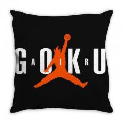 air goku 2 Throw Pillow | Artistshot