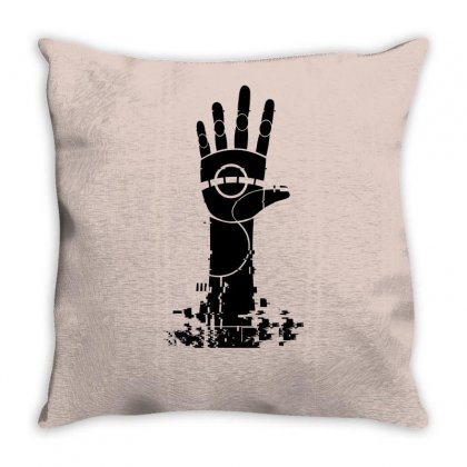 The Unperson Hand Throw Pillow Designed By Specstore