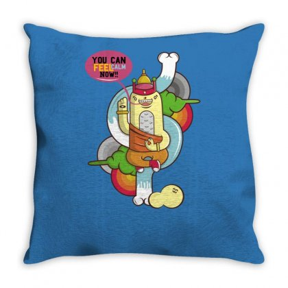 You Can Calm Now Throw Pillow Designed By Specstore