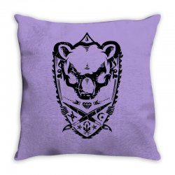 wild bear Throw Pillow | Artistshot