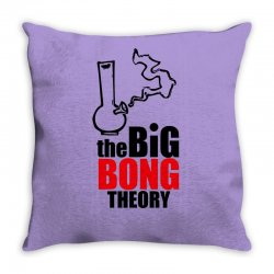 Big Bong Theory Throw Pillow | Artistshot