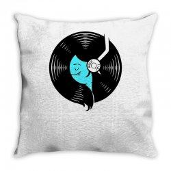 music time Throw Pillow | Artistshot