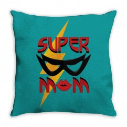 super mom Throw Pillow | Artistshot