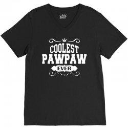 Coolest Pawpaw Ever V-Neck Tee | Artistshot