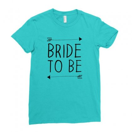 Bride To Be Ladies Fitted T-shirt Designed By Benny